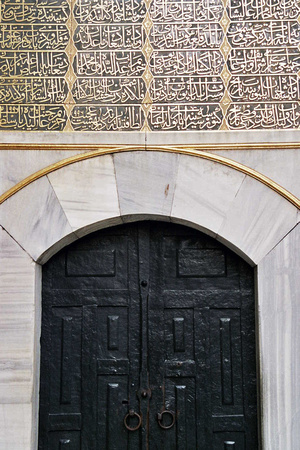 Harem Series #1, Istanbul, Turkey // Entrance